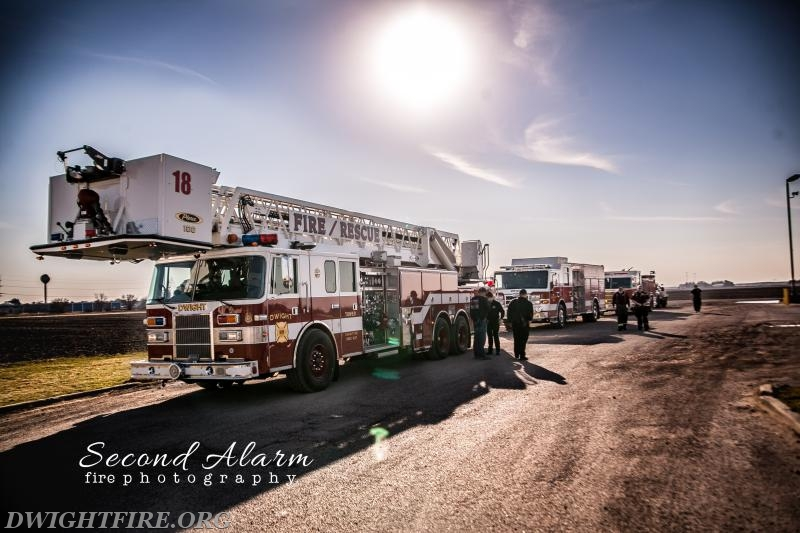Dwight Fire Protection District provided an escort home ...