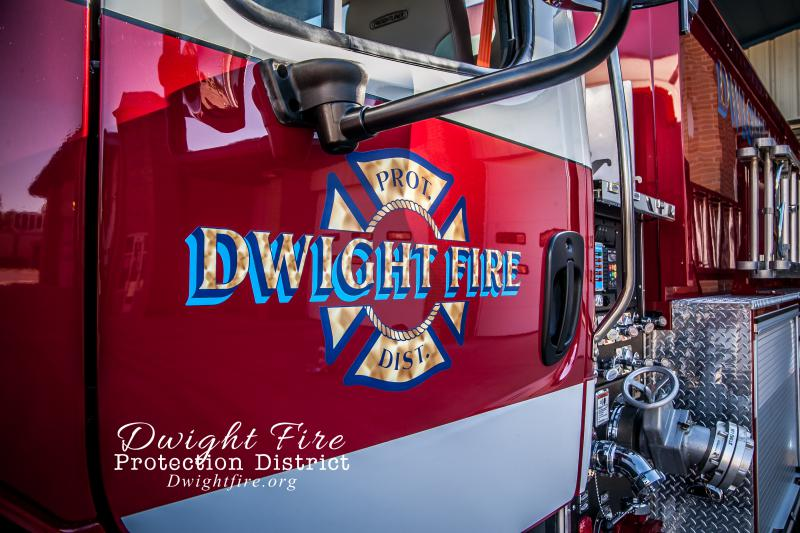Dwight Fire Protection District take possession of new ...